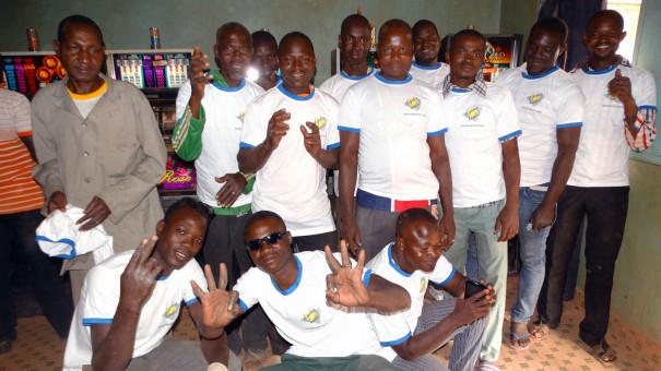 Lydia Ludic Burkina Faso a animé son Espace de Jeux et de Loisirs du quartier Goudrin, à Ouagadougou
