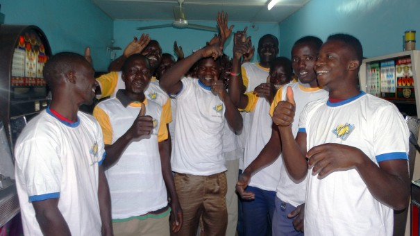 Lydia Ludic Burkina Faso a animé son Espace de Jeux et de Loisirs du quartier Trame d'Accueil à Ouagadougou