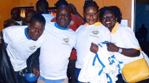 Lydia Ludic Burkina Faso a célébré la Saint-Sylvestre avec ses clients de l'Espace de Jeux et de Loisirs du quartier Sikassossira de Bobo-Dioulasso