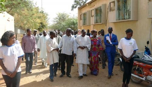 2016-01- Lydia Ludic Burkina Faso social Radio Télévision du Burkina (RTB), ouagadougou (5)