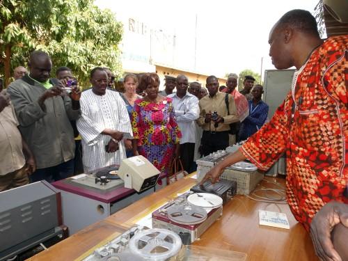 2016-01- Lydia Ludic Burkina Faso social Radio Télévision du Burkina (RTB), ouagadougou (7)