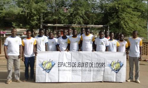 Lydia Ludic Burkina Faso apporte son soutien à la Radiodiffusion Télévision du Burkina