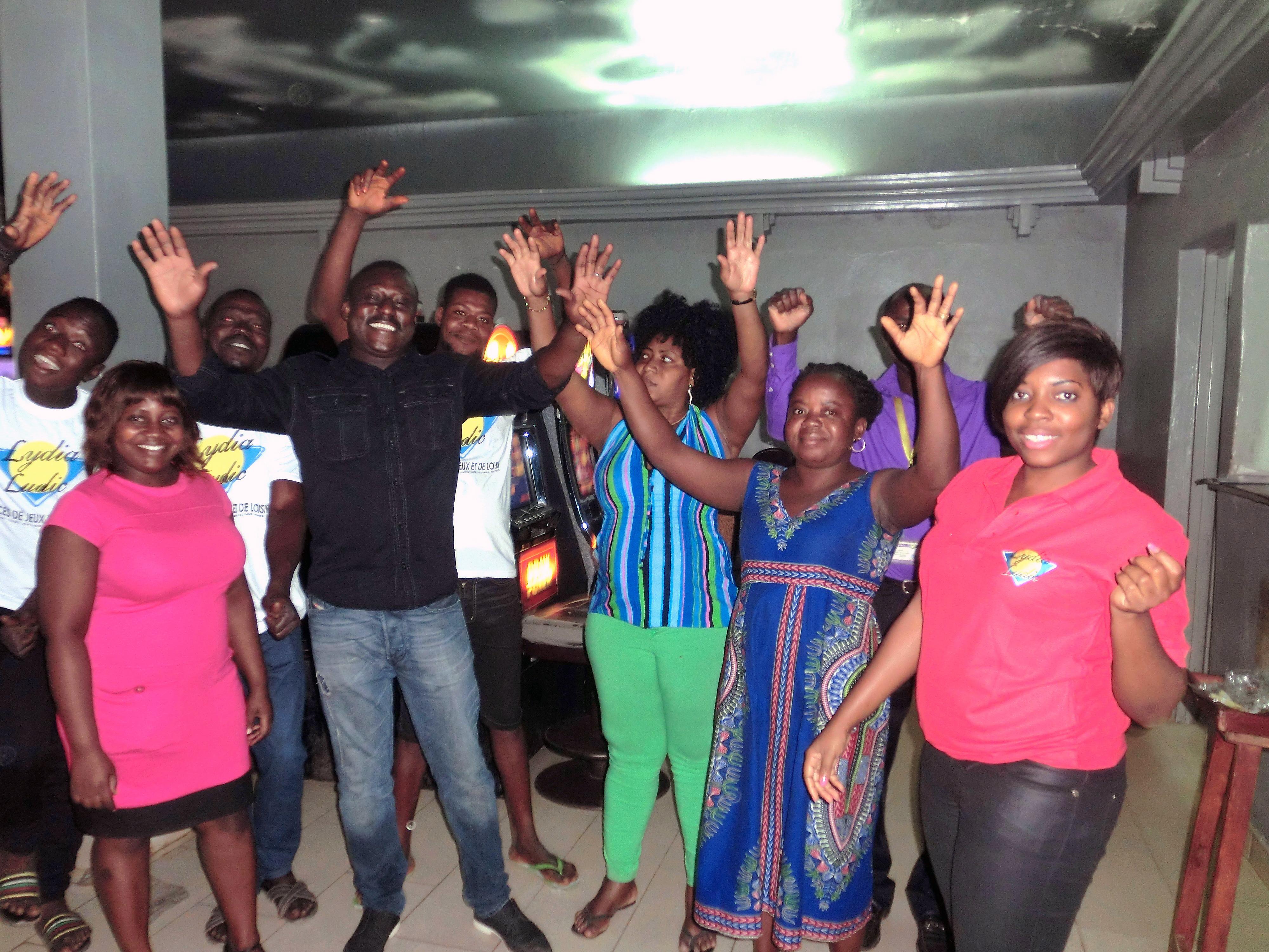 Animation Lydia Ludic Togo de l'Espace de Jeux et de Loisirs situé à Atikoumé, dans le quartier Bè Klikamé de Lomé