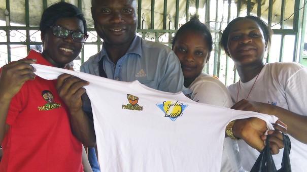 Animation Lydia Ludic Côte d'Ivoire de l'Espace de Jeux et de Loisirs situé dans le bar partenaire La Causette dans le quartier Ananeraie, dans la commune de Yopougon à Abidjan