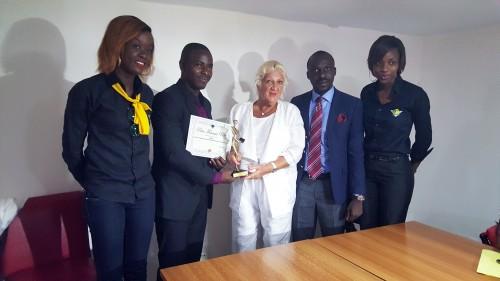 Lydia Ludic Côte d'Ivoire décerne les prix Francis Perez pour la Liberté d'Expression