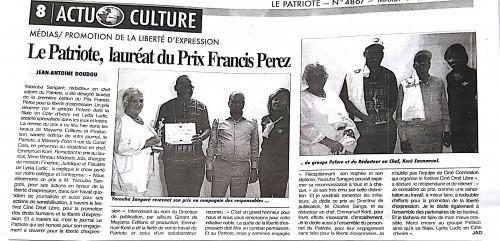 16-02-Lydia-Ludic-Côte-dIvoire-Abidjan-CSR-Social-Prix-Francis-Perez-Liberté-Expression-Presse-Le-Patriote-2