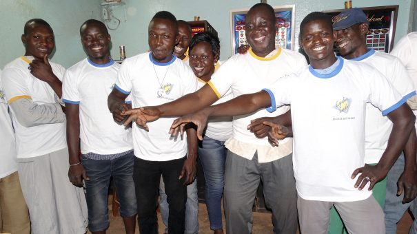 Animation Lydia Ludic Burkina Faso de l'Espace de Jeux et de Loisirs du quartier Ouézzinville de Bobo-Dioulasso