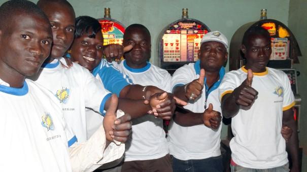 Animation Lydia Ludic Burkina Faso de l'Espace de Jeux et de Loisirs du quartier Colmas de Bobo-Dioulasso