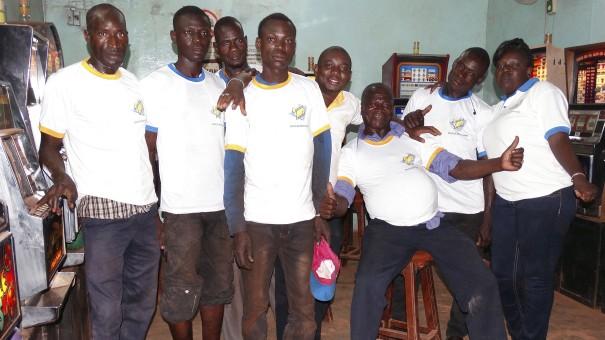 Animation Lydia Ludic Burkina Faso de l'Espace de Jeux et de Loisirs du quartier Koua de Bobo-Dioulasso