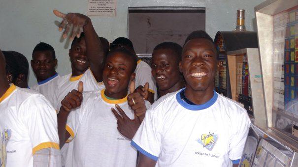 Lydia Ludic Burkina Faso a animé son Espace de Jeux et de Loisirs du quartier Nonsin, à Ouagadougou