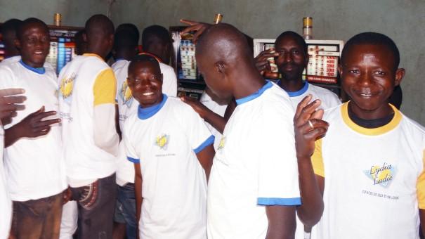 Lydia Ludic Burkina Faso a animé son Espace de Jeux et de Loisirs du quartier Saint-Léon, à Ouagadougou