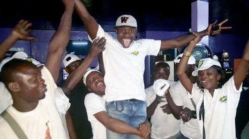 Lydia Ludic Côte d'Ivoire célèbre la Saint-Patrick avec ses clients