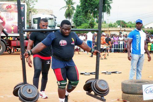 Lydia Ludic Togo a sponsorisé la compétition Strong Man Togo 2016