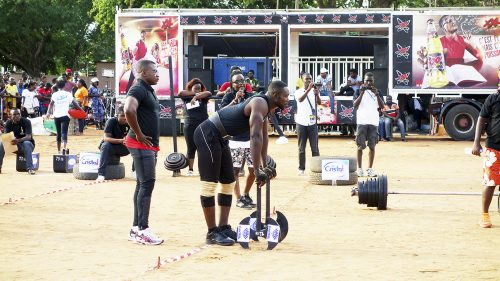 Lydia Ludic Togo a sponsorisé la compétition Strong Man Togo