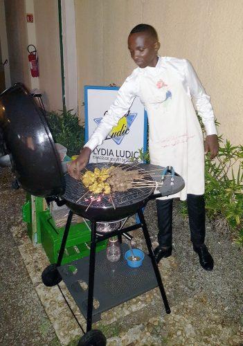 Lydia Ludic Côte d'Ivoire a organisé une soirée BBQ pour ses clients de l'Espace Prestige Jardins
