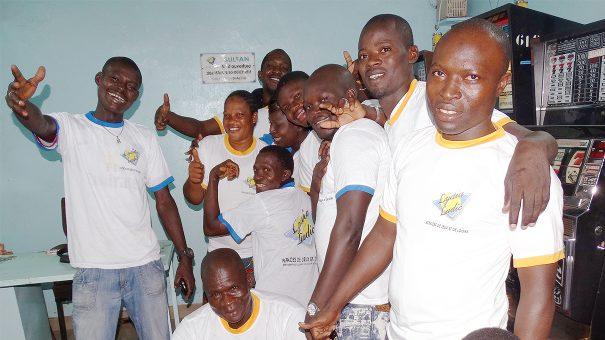 Lydia Ludic Burkina Faso a animé son Espace de Jeux et de Loisirs du quartier Sonsoroubougou, à Bobo-Dioulasso