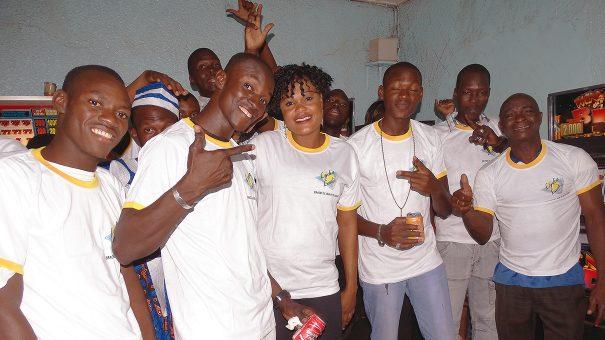 Lydia Ludic Burkina Faso a animé son Espace de Jeux et de Loisirs du quartier Sarfalao, à Bobo-Dioulasso