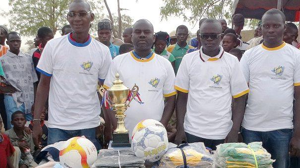 Lydia Ludic Burkina Faso sponsorise l'Organisation du Sport à l'École Primaire de Koumbri