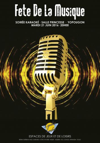 Ambiance de folie pour l'animation Fête de la Musique organisée par Lydia Ludic Côte d'ivoire