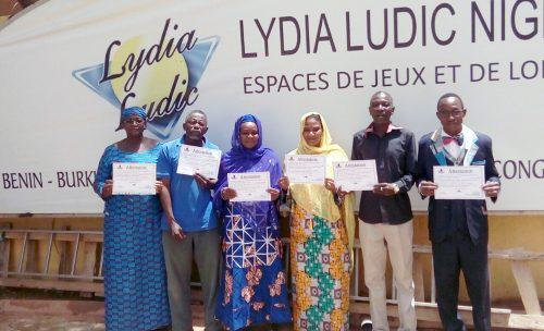 Les agents de Lydia Ludic Niger ont suivi des formations en accueil