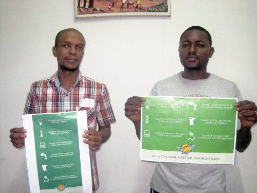Les agents de Lydia Ludic RDC débute la campagne environnementale de Grupo Pefaco