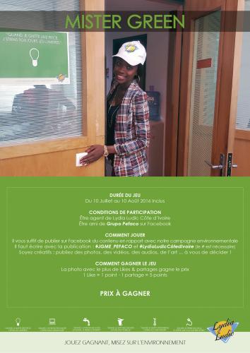 ENVIRONNEMENT & ENERGIE - Lydia Ludic Côte d'Ivoire a lancé un jeu concours pour ses agents