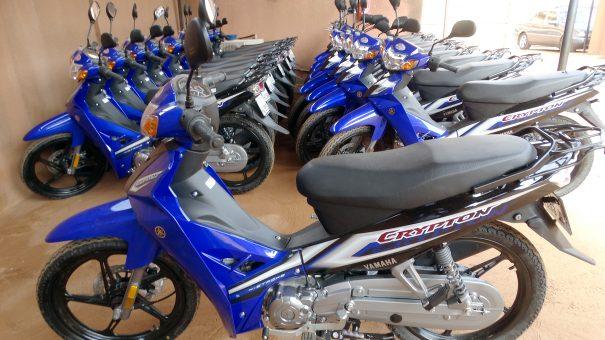 Lydia Ludic Burkina Faso a acquis de nouvelles motos pour renforcer son parc