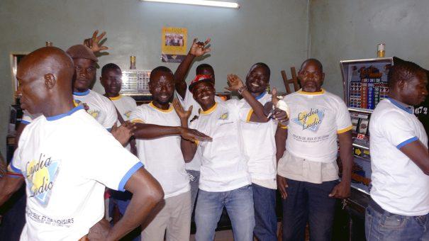 Lydia Ludic Burkina Faso a animé son Espace de Jeux et de Loisirs du quartier Pissi à Ouagadougou