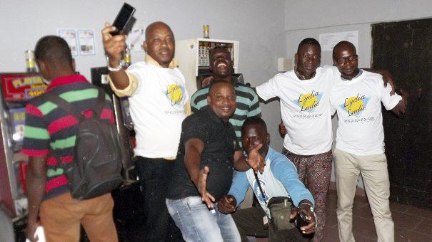 Animation Lydia Ludic Togo de l'Espace de Jeux et de Loisirs situé dans le bar partenaire Trocadero dans le quartier Kegué de Lomé