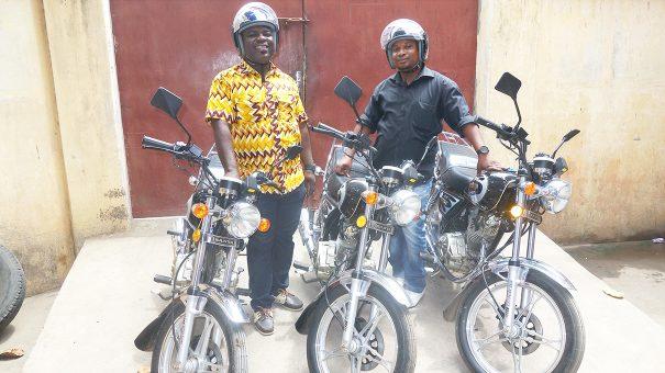 Lydia Ludic Togo a acquis de nouvelles motos pour renforcer son service client