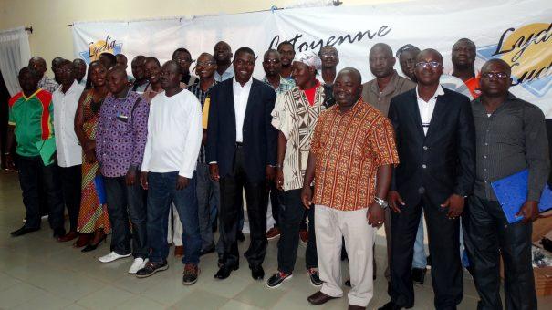 Lydia Ludic Burkina Faso continue à former ses délégués du personnel à Bobo-Dioulasso