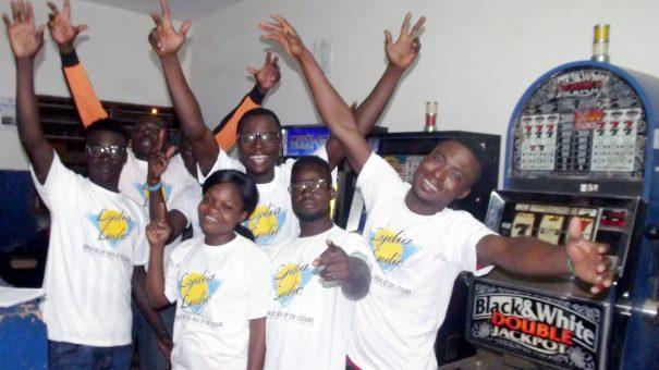 Animation Lydia Ludic Togo de l'Espace de Jeux et de Loisirs situé dans le bar partenaire Makaya Bonheur dans le quartier Agoè-Assiyéyé de Lomé