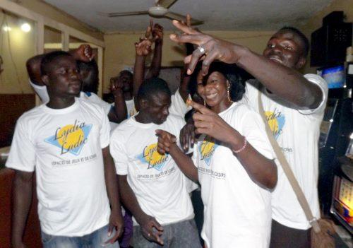 Espace de Jeux et de Loisirs du bar partenaire Routier, dans le quartier Agoè Zongo