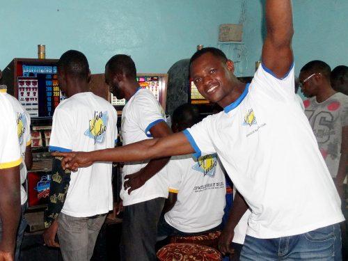Animation Lydia Ludic Burkina Faso du mini-salon Barça, l'Espace de Jeux et de loisirs Lydia Ludic situé dans le quartier Ouezzin Ville (Secteur 15) de Bobo-Dioulasso.