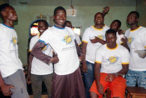 Animation Lydia Ludic Burkina Faso du mini-salon Africa Nº1, l'Espace de Jeux et de loisirs Lydia Ludic situé dans le quartier Dassasgho (Secteur 21) de Ouagadougou.