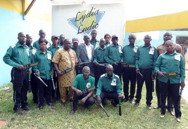 Lydia Ludic Burkina Faso · Service de sécurité à Ouagadougou