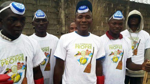Environnement : Lydia Ludic Côte d'Ivoire participe à l'opération coup de balai à Abidjan - Août 2015