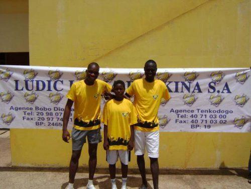 Lydia Ludic Burkina Faso sponsorise la compétition Handi Sport - Mai 2010