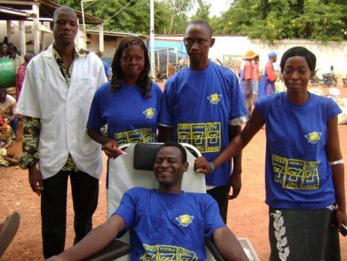 Lydia Ludic Burkina Faso organise une collecte de sang à Banfora - Juin 2010