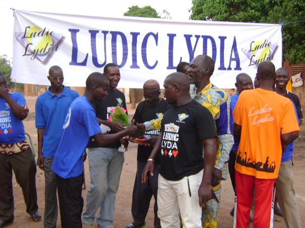 Lydia Ludic Burkina Faso sponsorise la Coupe de la Fraternité de Pétanque - Mars 2011