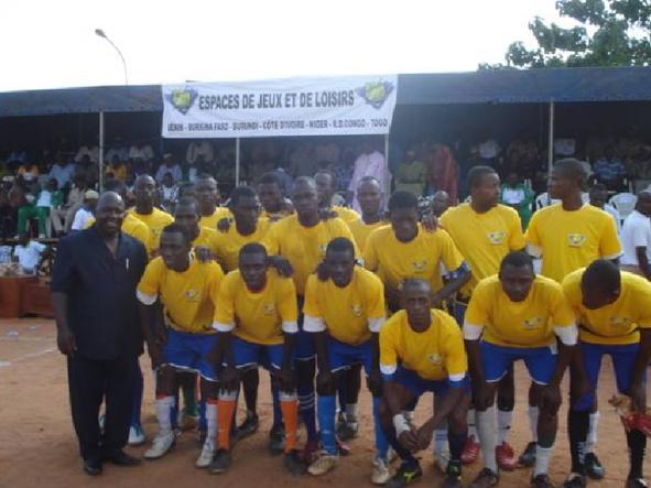 Lydia Ludic Burkina Faso parraine la Coupe du Maire de la commune de Do - Juillet 2011