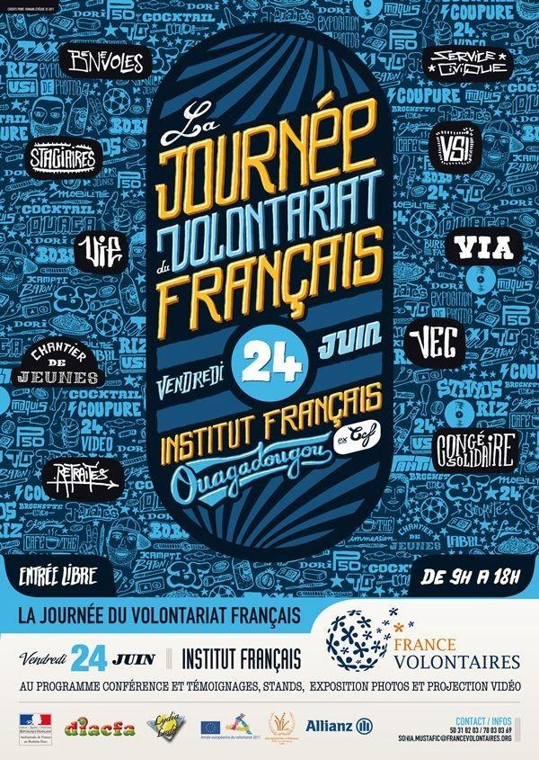Lydia Ludic Burkina Faso sponsorise la 1èreJournée du Volontariat Français - Juin 2011
