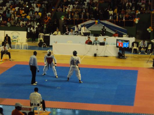 Lydia Ludic Côte d'Ivoire sponsorise la Coupe du Monde de Taekwondo - Juin 2012