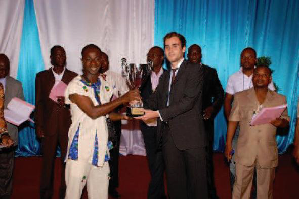 Lydia Ludic Togo sponsorisela Coupe Nationale du Chant Choral - Juillet 2012