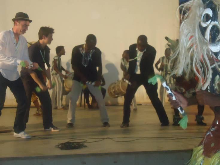 Lydia Ludic Burkina Fasosoutient le festival Passana - Avril 2012