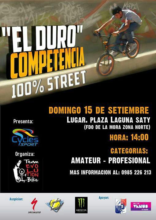 """Lydia Ludic Paraguay sponsorise le championnat de BMX """"El Duro"""" - Septembre 2013"""