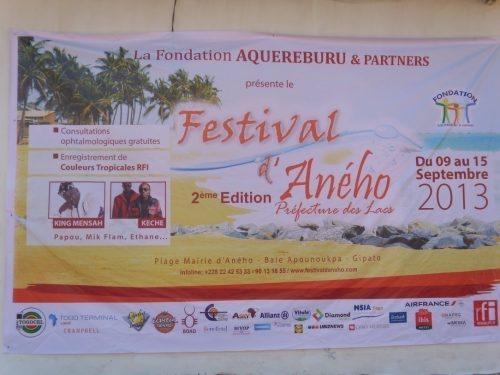 Lydia Ludic Togo sponsorise lefestival d'Aného - Septembre 2013
