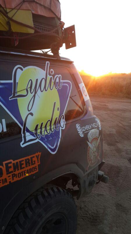 Lydia Ludic Paraguay sponsorise la 43e édition du Rallye du Chaco - Septembre 2013