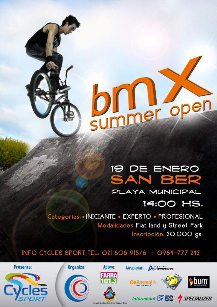 Lydia Ludic Paraguaysponsorise le BMX Summer Open - Janvier 2013