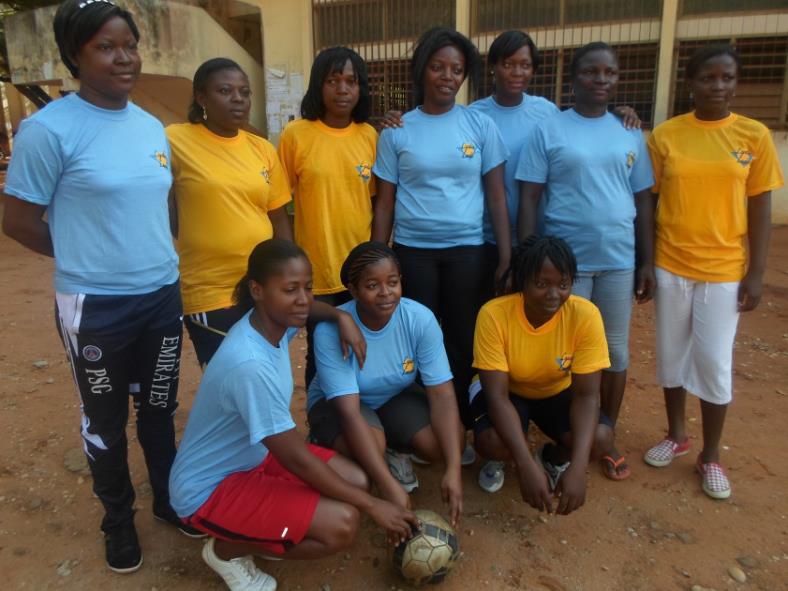 Lydia Ludic Togo promeut la santé par le sport - Mai 2013